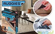 8 броя антиплъзгащи силиконови подложки за килими и пътеки