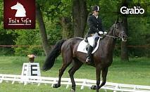 1 час конна езда за напреднали или начинаещи
