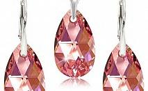 Електронен магазин за бижута ot eliza-kristal.com има страхотно предложение на неустоима цена! Вземете ваучер за Стилен и нежен комплект 'Сърцето на любовта' - колие и обеци с елементи Сваровски.    Размер на сърцето на висулката 2см на 3см