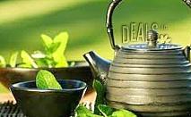 Енергизиращ масаж с мента и зелен чай само за 15лв вместо за 35лв в Студио GIRO!
