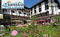Есен в Банско! 1 нощувка със закуска, обяд и вечеря, плюс SPA пакет