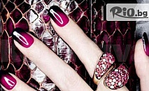 """Есенен Маникюр с термо Shellac, променящ цвета си според температура или Shellac с Френски маникюр на цени от 9.90 лв, от Салон за красота """"Киара"""""""