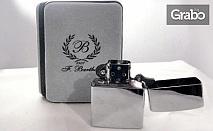 Гравиран подарък! Ключодържател, химикалка или запалка с лично послание, или комплект
