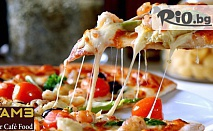 Италиански изкушения за ценители! Изберете основно ястие: Ризото с пиле/Лазаня Болонезе или Голяма пица Фиоре/Пиадина Поло ди Парма + десерт: домашно приготвено Тирамису от 5.99лв, от Fame Bar andamp;Dinner
