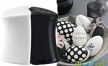 Комплект стилни солници в черно и бяло