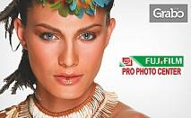 Луксозна фотокнига с 20 страници от оригинална фотохартия FUJIFILM, плюс дизайн и обработка