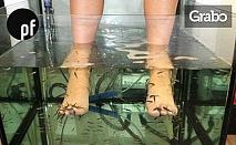 30 минути масаж на крака и пилинг с рибките Garra Rufa