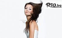 Невероятна прическа - ретро преса, букли или изправяне, плюс регенерираща терапия за коса само за 11.50лв, от Салон за красота Киара