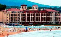 Незабравима почивка на първа линия, Суит за двама Полупансион с чадър и шезлонг на плажа до 30.06 в Апартаменти Примеа Бутик, Царево