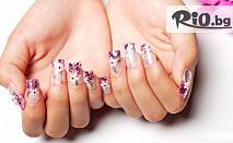 Облечете ноктите си в пролетно настроение! Ноктопластика с изграждане с гел, лакиране + 2 декорации само за 19.99лв, от Салон Фиоре