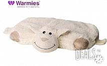 Плюшена нагряваща се и охлаждаща се възглавница овца от Warmies