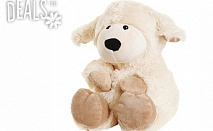 Плюшена нагряваща се овчица Лавенди от Warmies