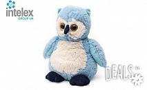 Плюшено нагряващо се Бухалче Cozy Plush Owl от Intelex
