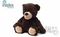 Плюшено нагряващо се Кафяво мече Cozy Plush Brown Bear от Intelex