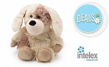 Плюшено нагряващо се Кутре Cozy Plush Puppy от Intelex
