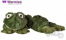 Плюшенo нагряващo се и охлаждащo се вързопче жаба от Warmies