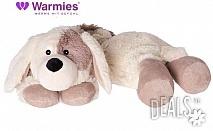 Плюшено нагряващо се и охлаждащо се вързопче куче от Warmies
