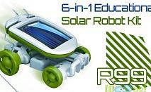 Соларен конструктор 6 в 1 забавна образователна играчка