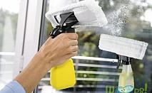 Уред за миене на прозорци с пълнител
