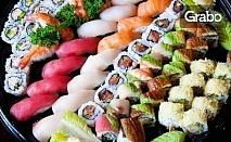 Време е за суши! Филаделвия сет с 48 хапки или Парти сет със 76 хапки