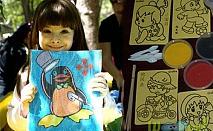 Зарадвай детето си с комплект от 10 броя пясъчни рисунки