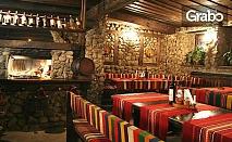Зимна почивка за двама в Банско! Една нощувка със закуска и вечеря, плюс сауна и парна баня